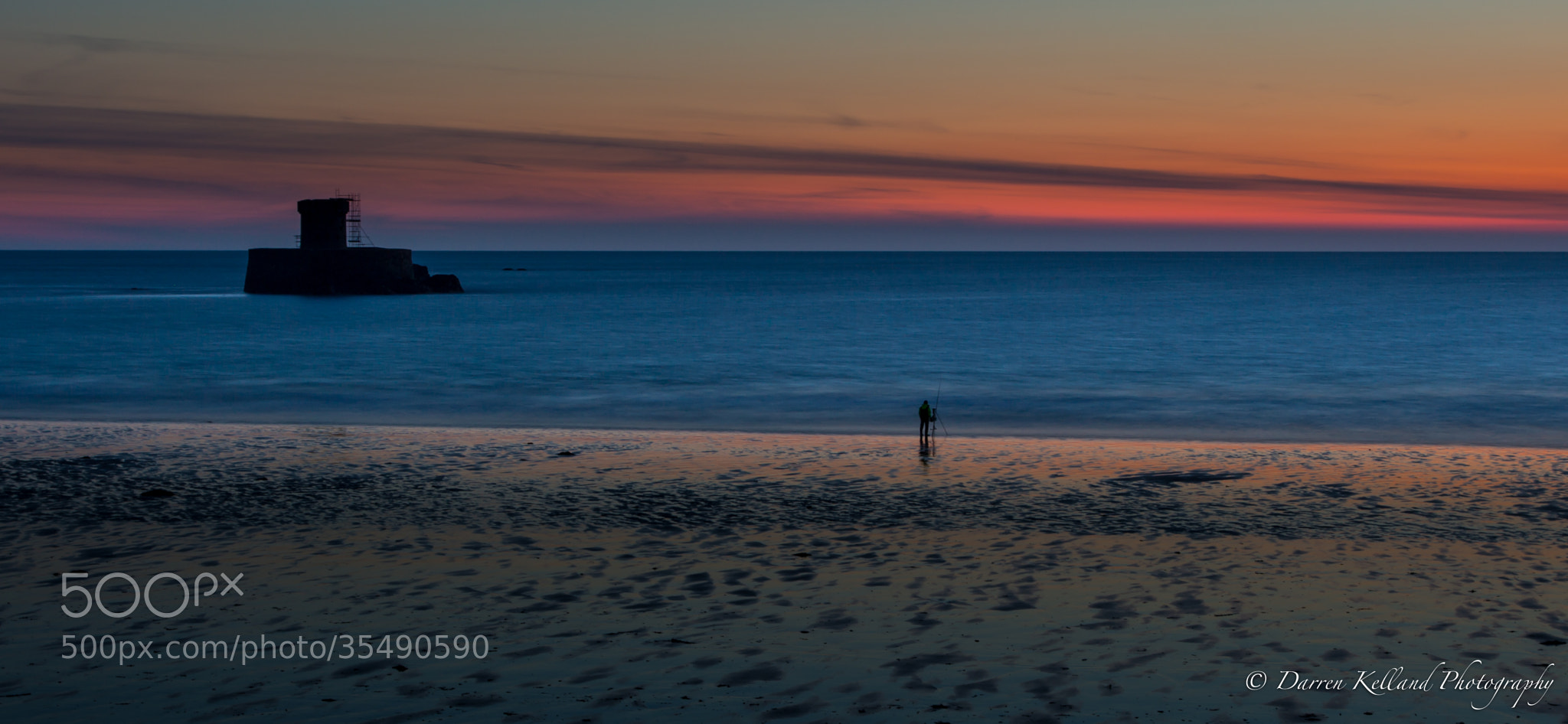 Photograph The lonely fisherman by Darren Kelland on 500px