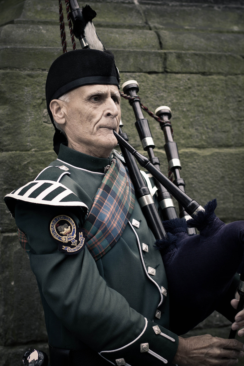 Photograph Bagpipes and the Edinburgh Military Tattoo by Peter Peerdeman on 500px
