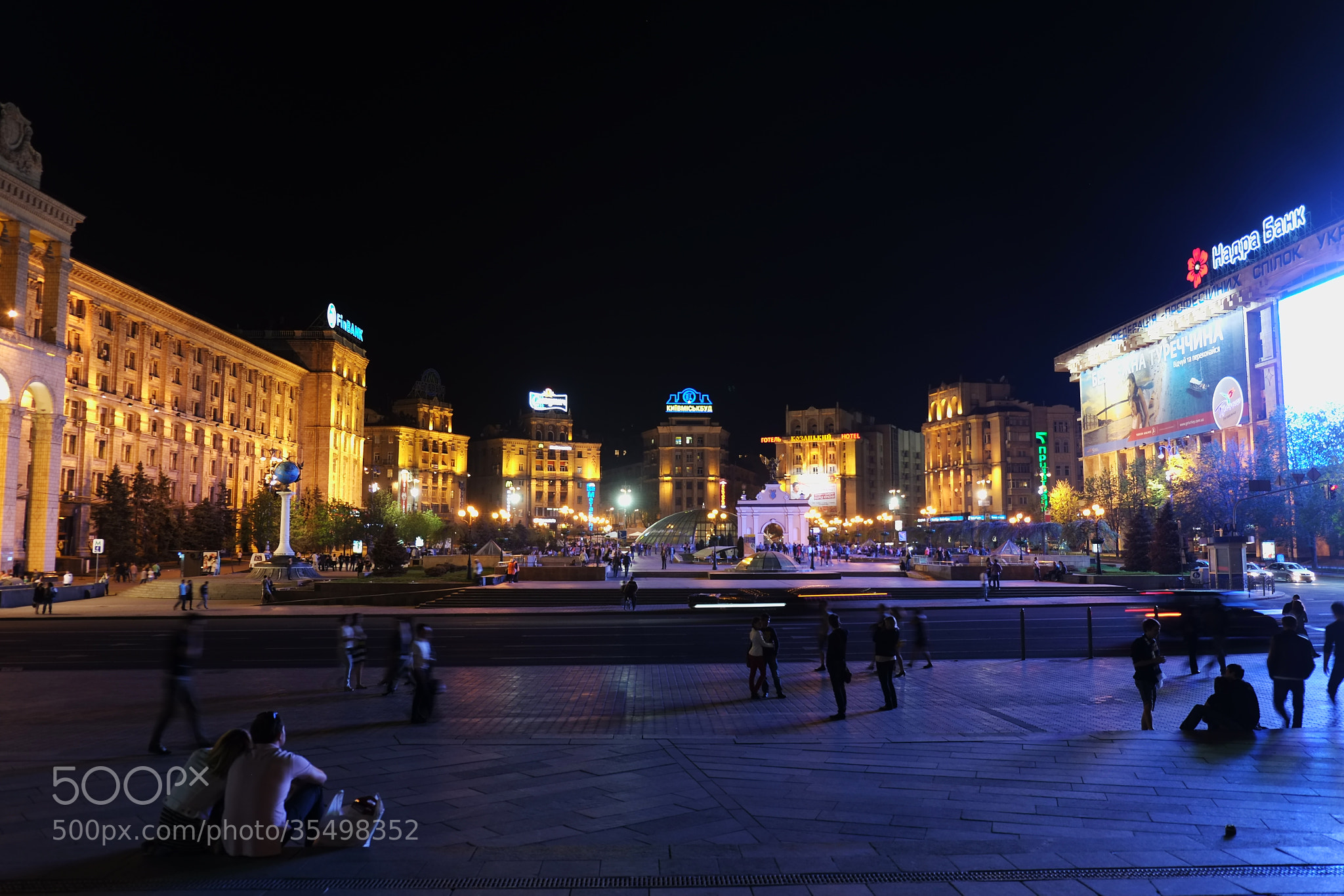 Photograph Kiev Night by world_image on 500px