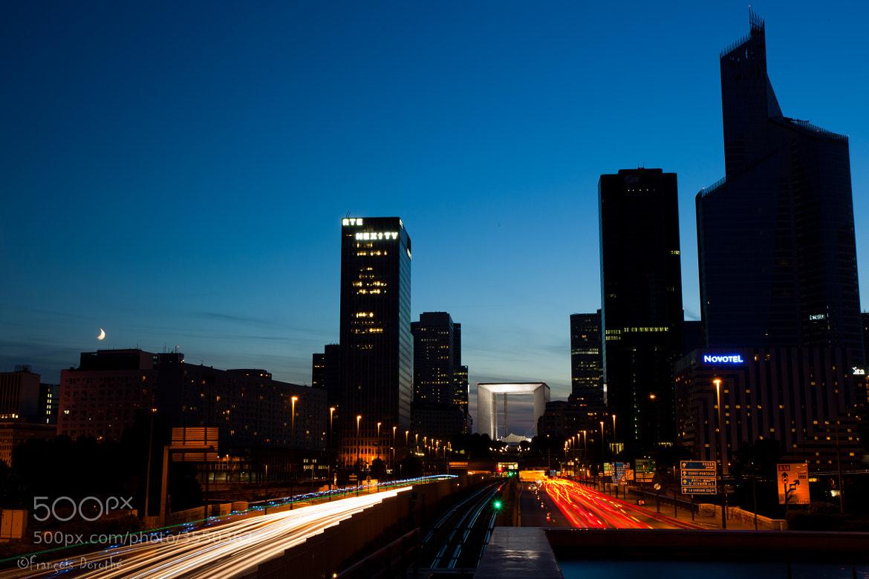 Photograph La Grande Arche de la Défense by François Dorothé on 500px