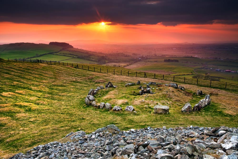Photograph Loughcrew Cairn S by Stephen Emerson on 500px