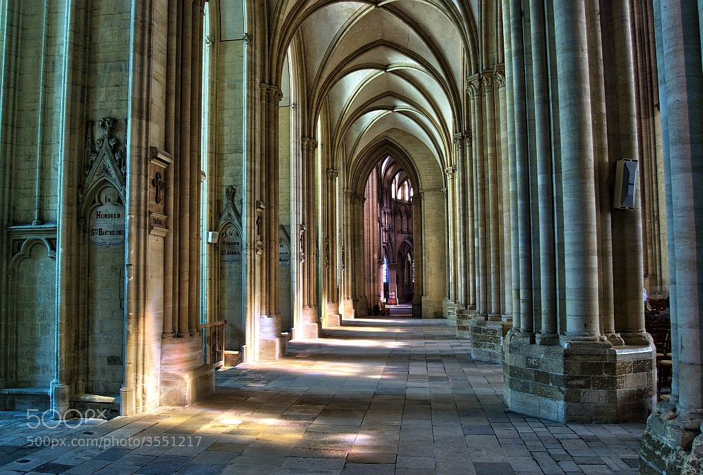 Photograph Coutances Cathedral by Matthew Harvey on 500px
