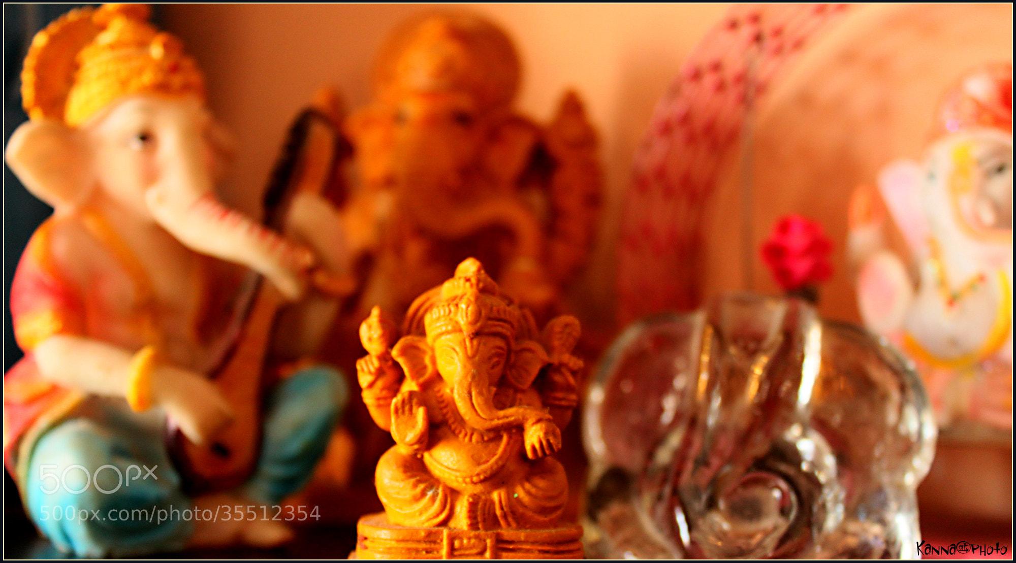 Photograph favorite Ganesha! by Kannan  on 500px