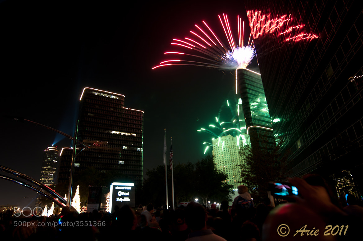 Photograph Uptown tree lighting ceremony by Coogie on 500px