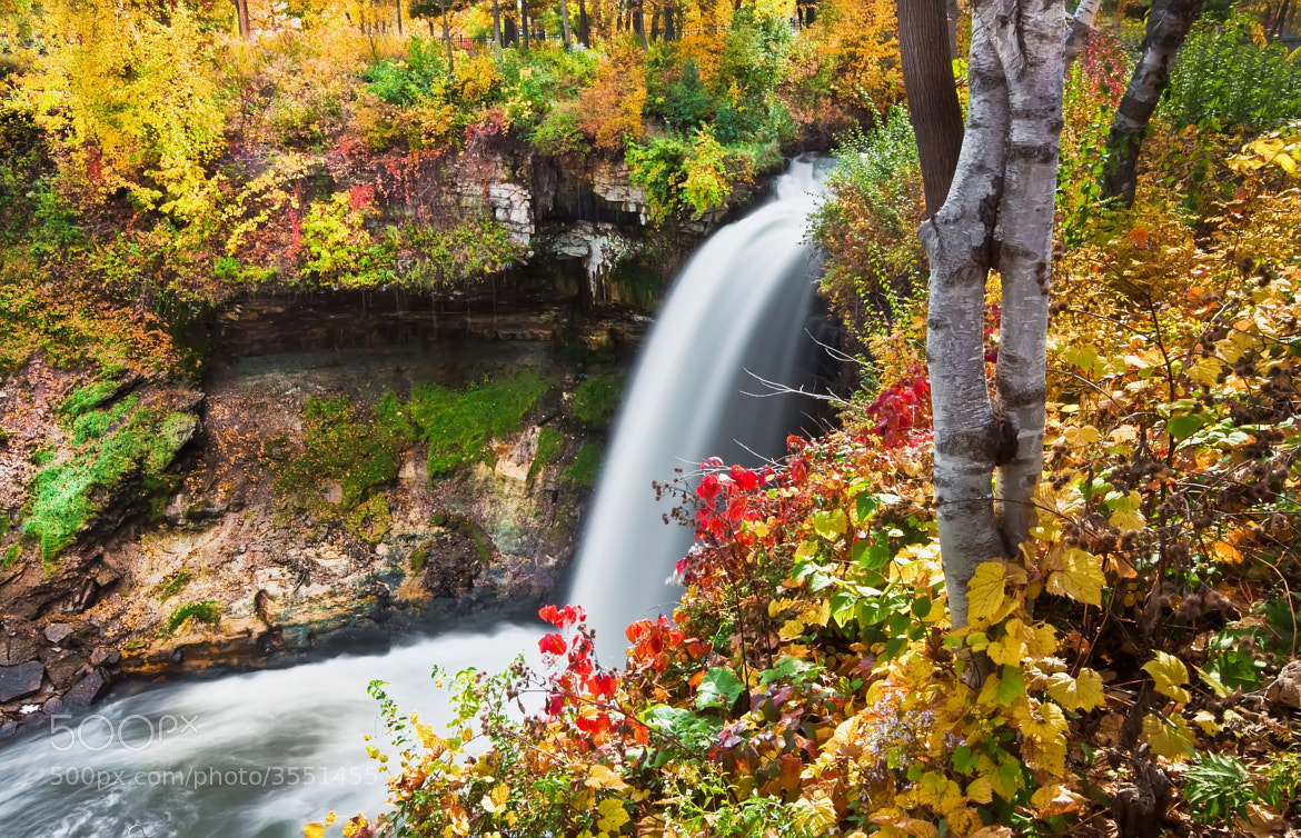 Photograph A Local Favorite... Minnehaha Falls. Minneapolis, Mn. by Jeff Jacobson on 500px