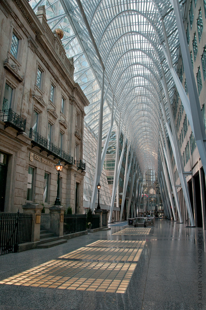 Photograph Brookfield Place, Toronto. by Karen von Knobloch on 500px