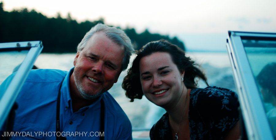 Photograph Chris and Libby Newkumet on Thompson Lake by Jimmy Daly on 500px
