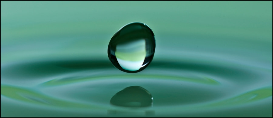 Photograph Water Drop by Nicky Adriaens on 500px