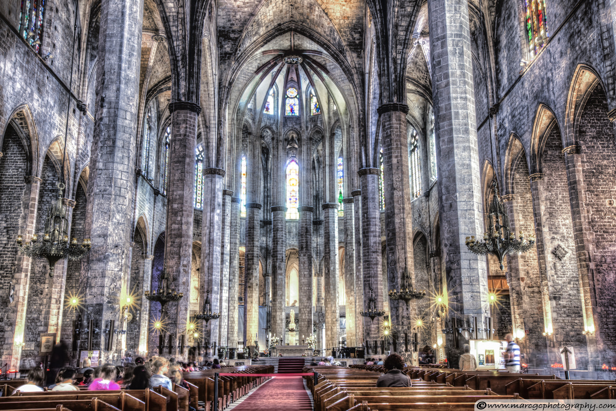 Photograph Cathedral of the Sea by Marc Garrido on 500px