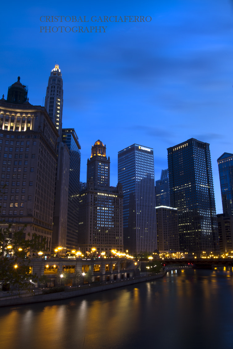 Photograph Blue hour at Chicago River by Cristobal Garciaferro Rubio on 500px