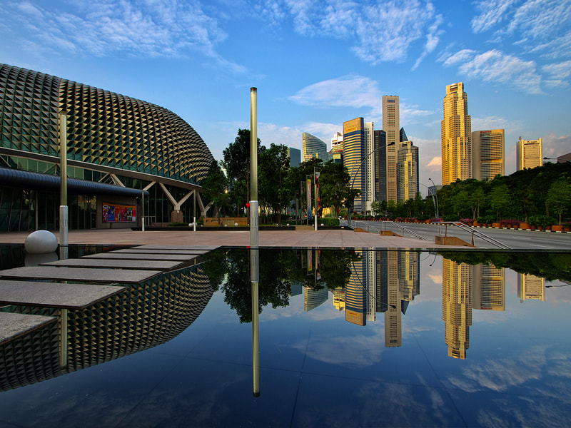 Photograph A City Reflected by WK Cheoh on 500px