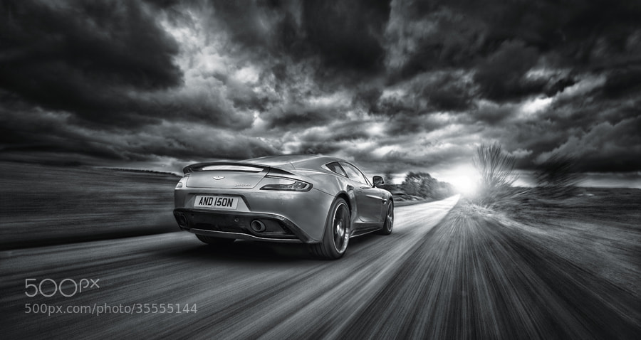 Photograph Aston Martin 2013 Vanquish Car Photography by Tim Wallace on 500px