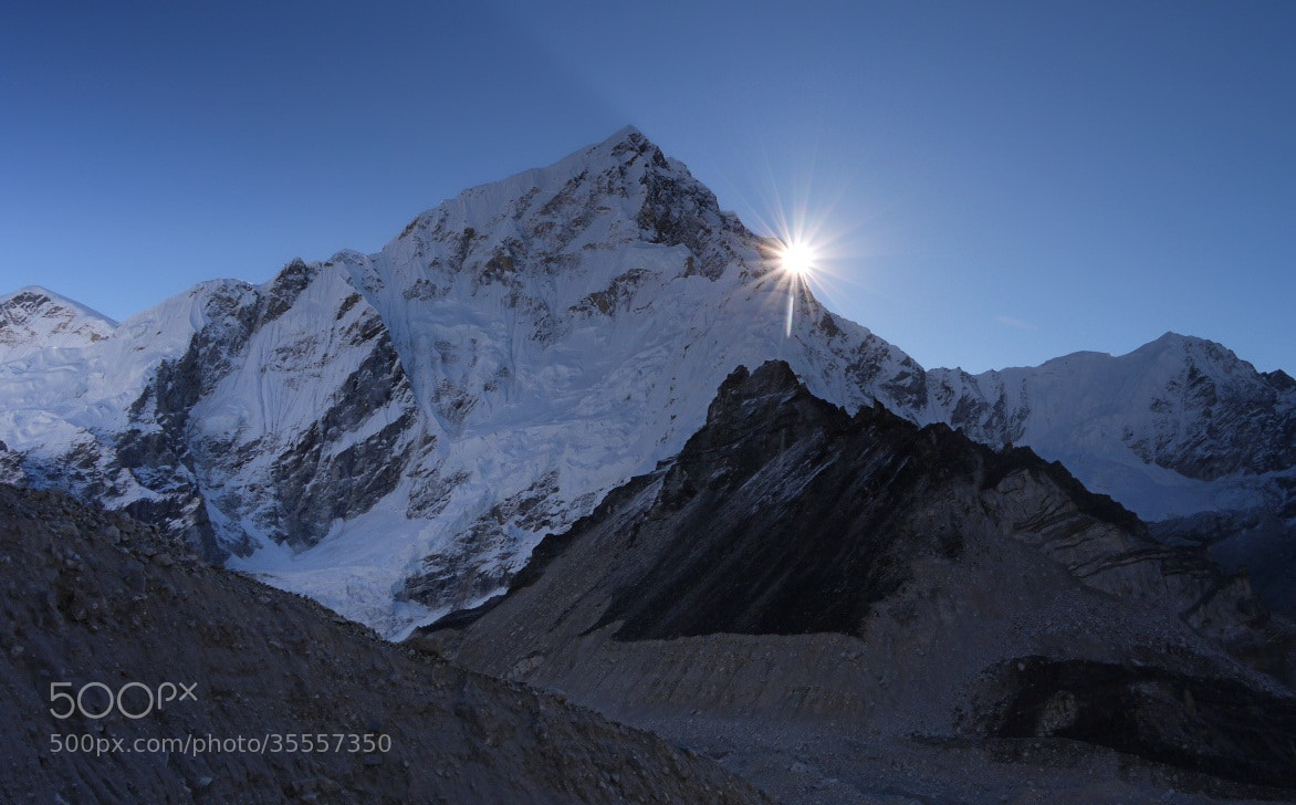 Photograph Himalayan sunrise by Petr Podroužek on 500px