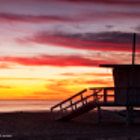 """As we drove into Long Beach along US-1, we could tell the sky was going to be special, so I quickly parked the car. My friend Ashley and I ran across the beach to catch the last light before it was gone for the day. Please visit my site, <a href=""""http://raffianphoto.com"""">raffianphoto.com</a> if you're interested in purchasing a print or downloading a digital version of this image. All Rights Reserved. Copyright © RaffianPhoto.com Please don't use my image(s) on websites, blogs or other media without my explicit permission."""