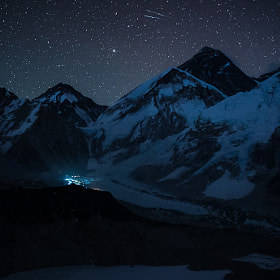 Everest at night. by Dementievskiy Ivan on 500px.com