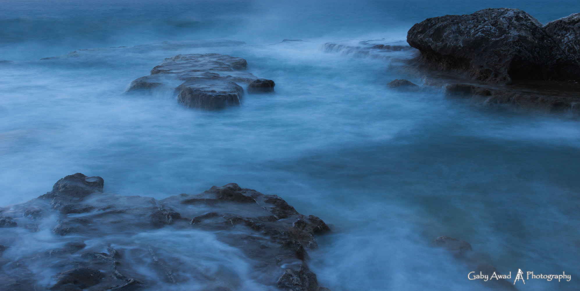 Photograph Silky waves 1 by Gaby Awad on 500px