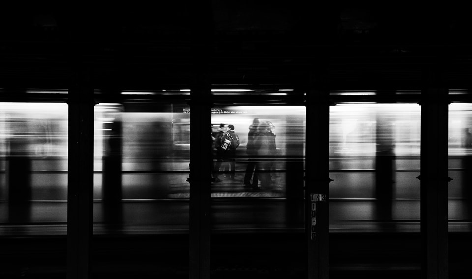 Photograph NYC Subway by Bobi Dojcinovski on 500px