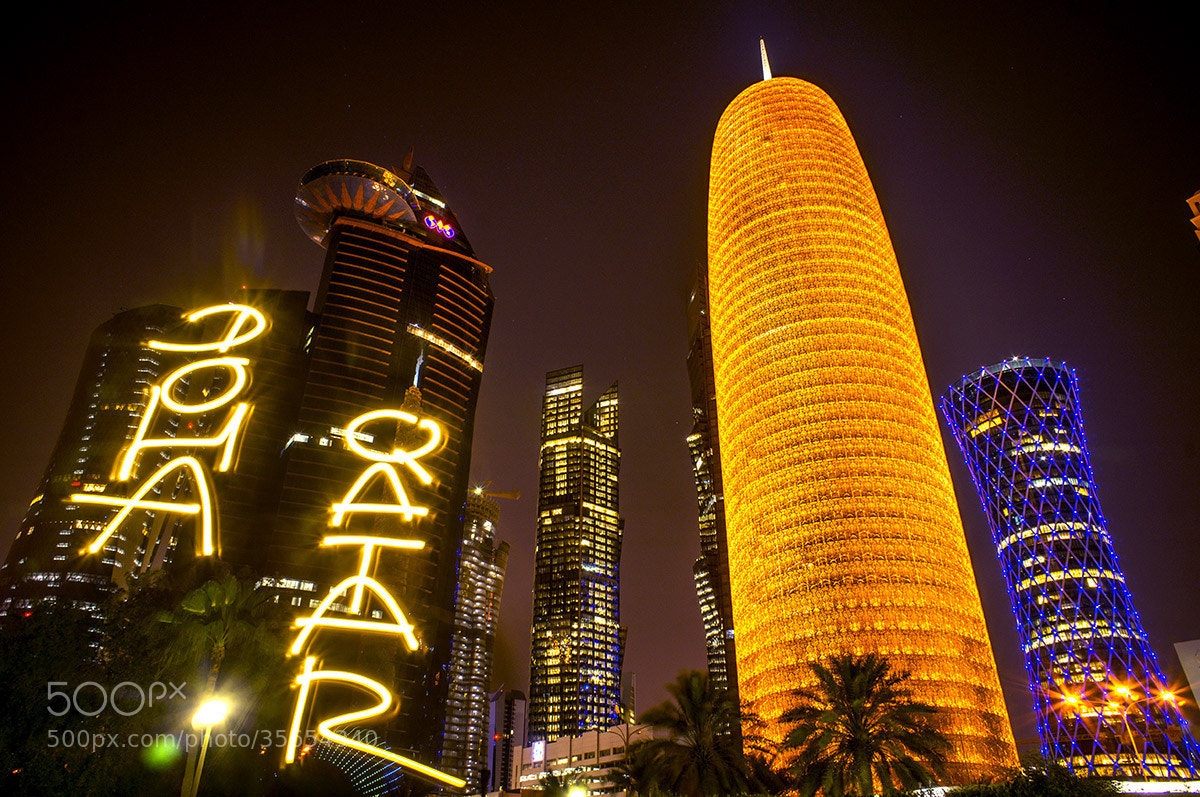Photograph Qatar, Doha, light-painting by Marko93 by Marko Light-painting on 500px