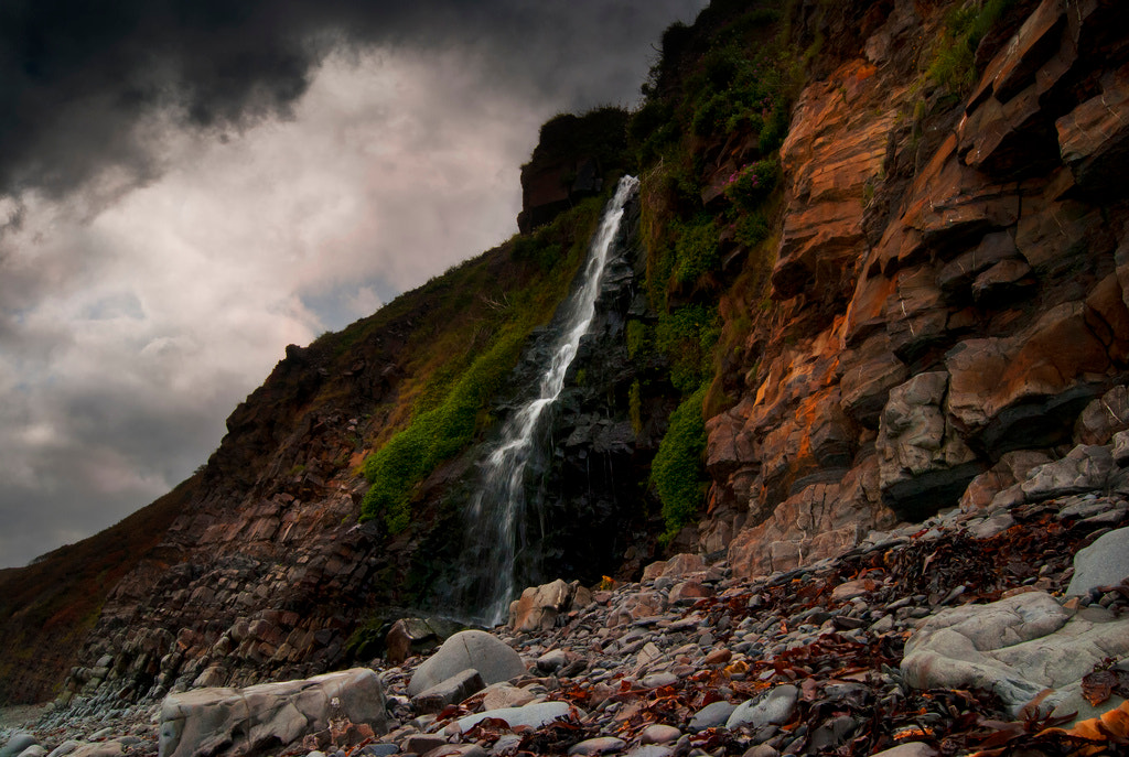 Photograph Beach Falls by Audran Gosling on 500px
