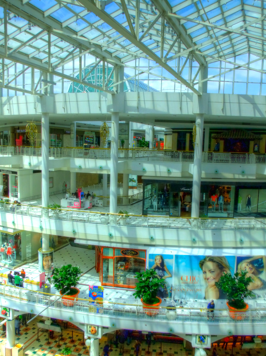 Photograph Pentagon city Mall Atrium by mac dunlap on 500px