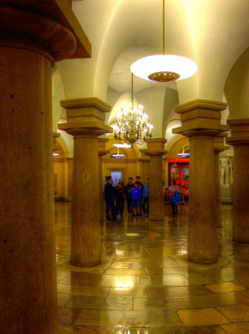 Photograph ROTUNDA AREA INSIDE U.S. CAPITOL by mac dunlap on 500px