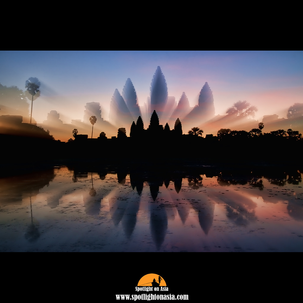 Photograph Angkor Wat Zoom by Malcolm Fackender on 500px