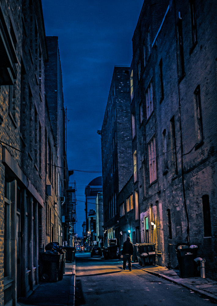 Photograph Evening in a Troy Alley  by Bob Foss on 500px