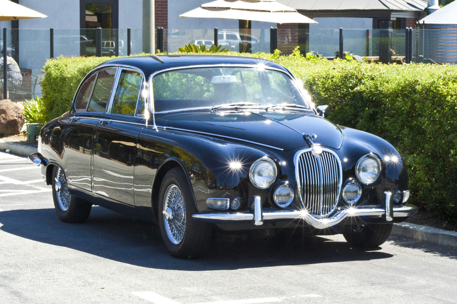 Classic Jaguar in beautiful shape!