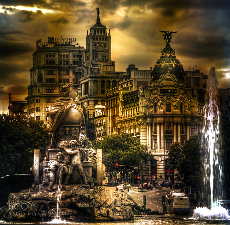 "Photograph ""New version"" Cibeles by Dani  Parra on 500px"