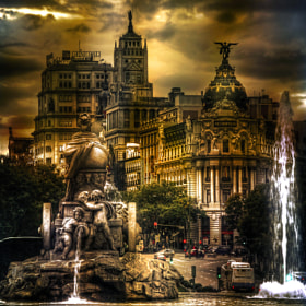 """New version"" Cibeles by Dani  Parra (daniparra)) on 500px.com"