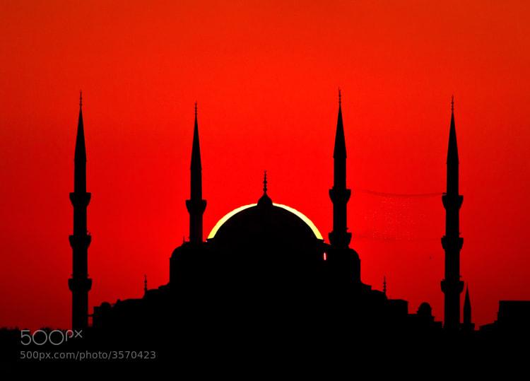 Photograph Sunset in Istanbul by Veysel Birinci on 500px