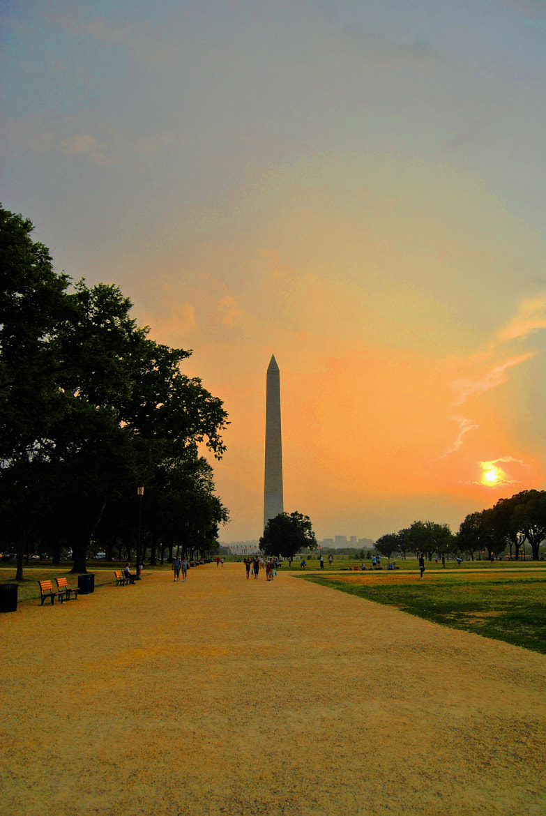 Photograph Sunset on DC by Nicolas Jmt on 500px