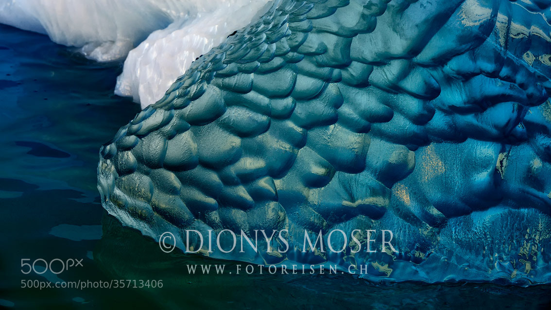 Photograph saphir blue by Dionys Moser on 500px