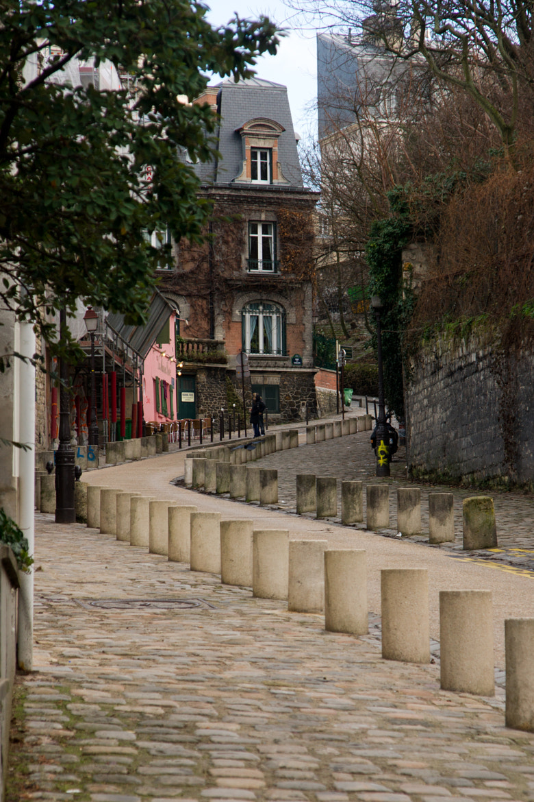 Photograph street in Montmartre by nickodim on 500px