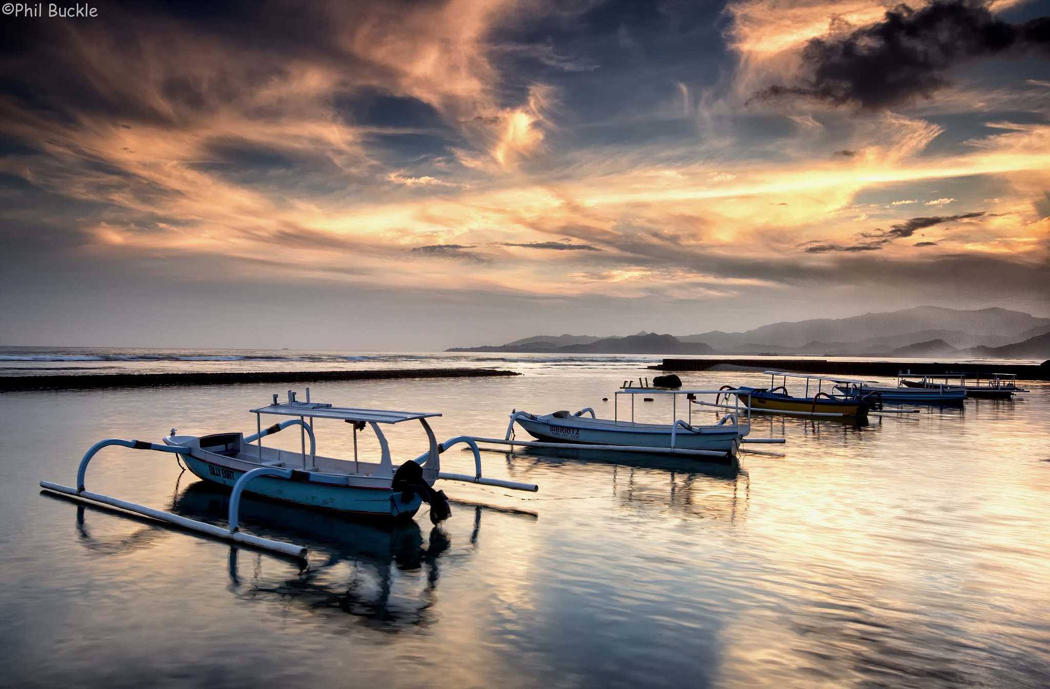 Photograph Bali Boats by Phil Buckle on 500px