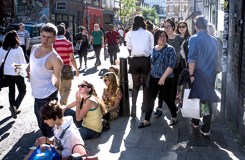 Photograph May Bank Holiday - Shoreditch by Brent A. Martin on 500px