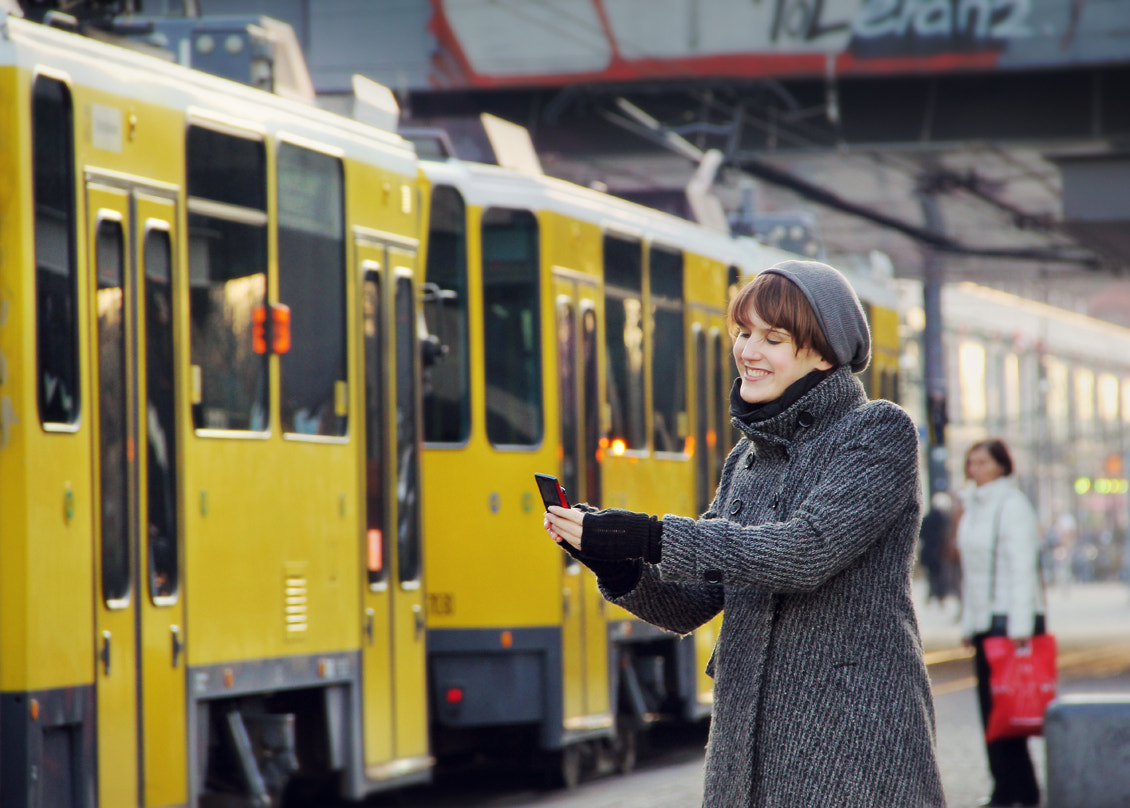 Photograph Smiling at Berlin by Ges Rules  on 500px