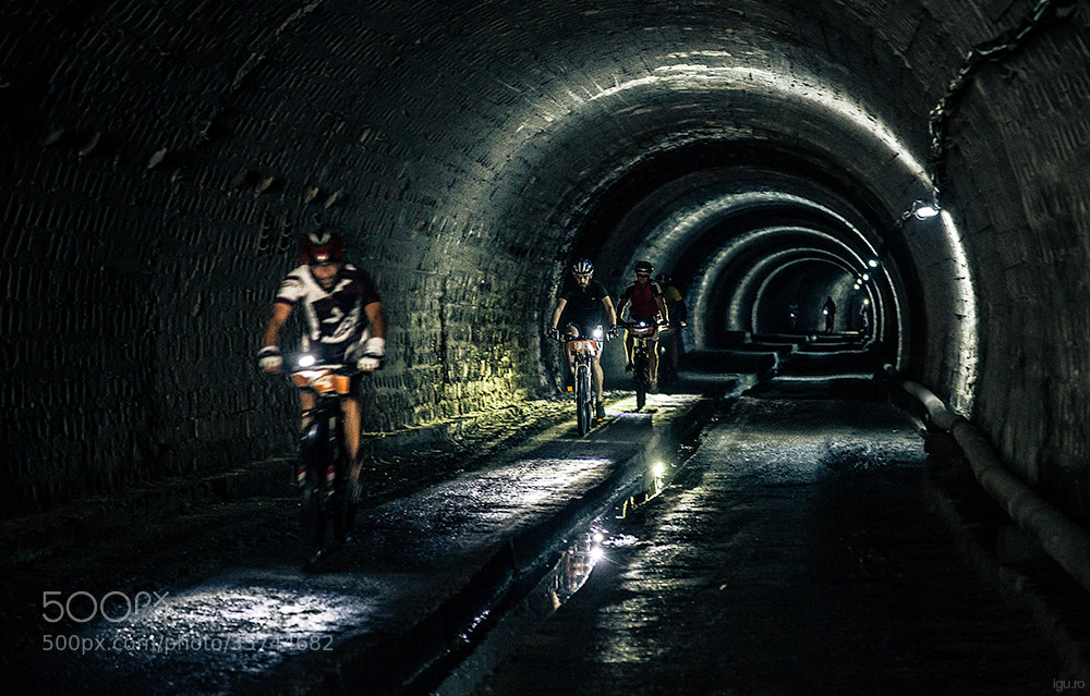 Photograph Underground bike race by Cristian Vasile on 500px
