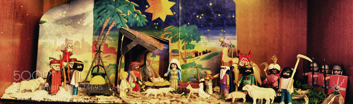 Photograph Playmobil´s Nativity Diorama by Miguel Angel Gomez Rando on 500px