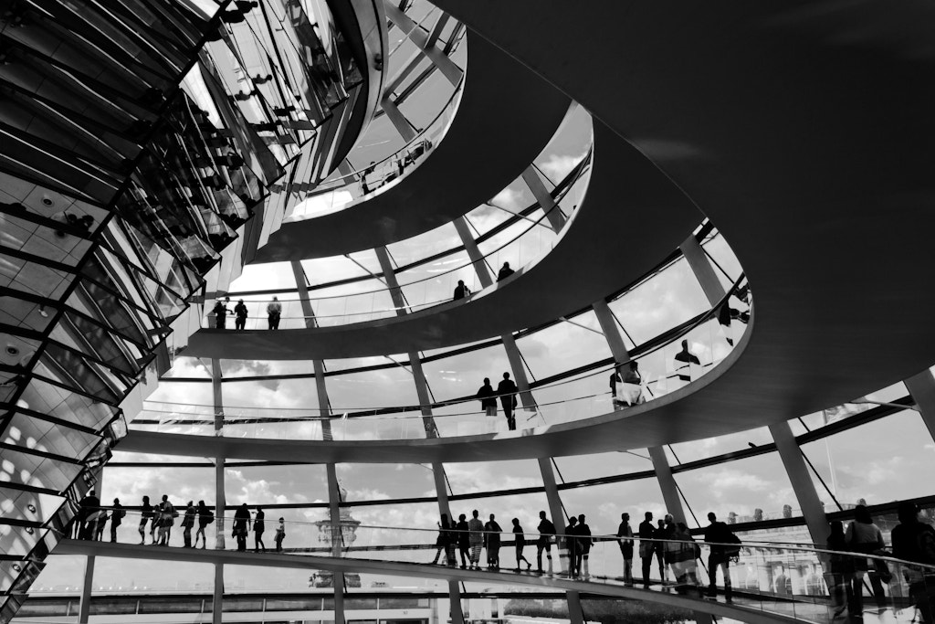 Photograph Reichstag's dome  by Riccardo  Villani on 500px