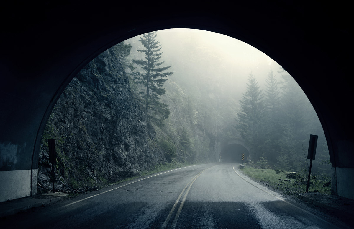 Photograph tunnel by Sparth (Nicolas Bouvier) on 500px