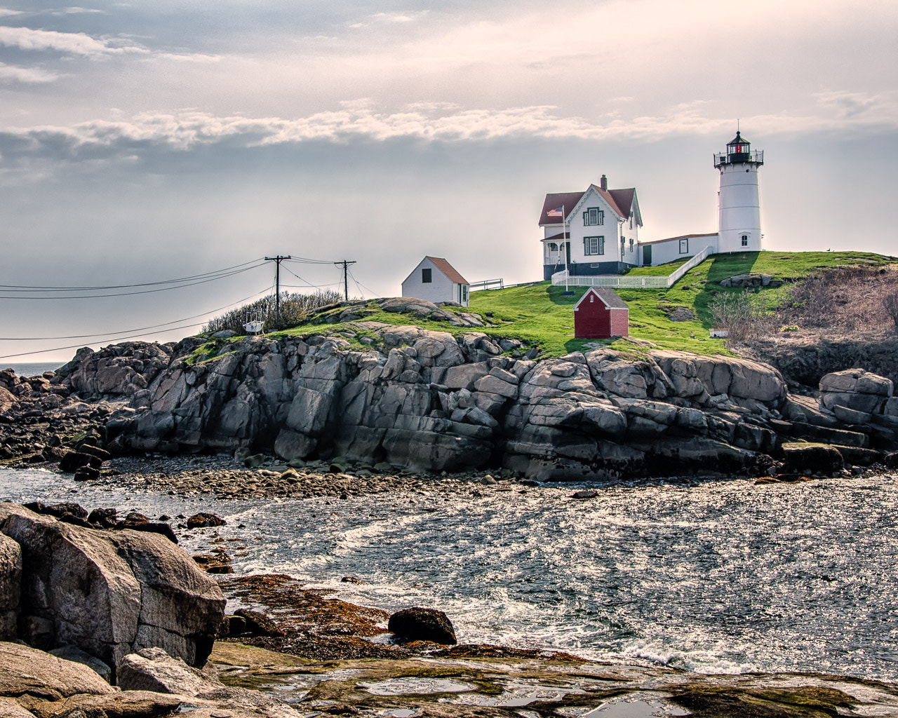 "Photograph Cape Neddick (""Nubble"") Light by R. Grothaus on 500px"