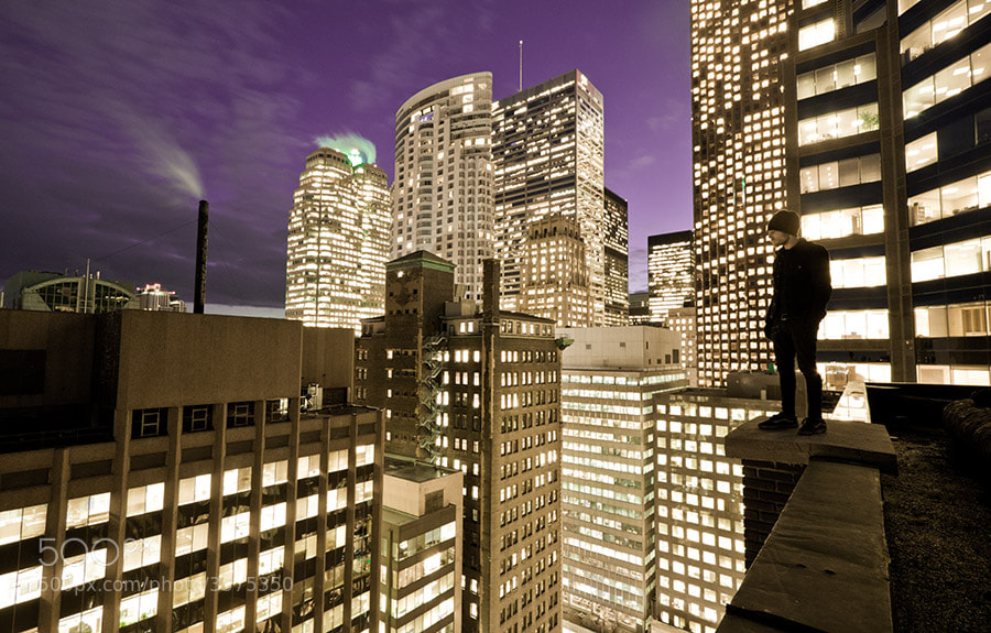 Photograph Sin City by Roof Topper on 500px