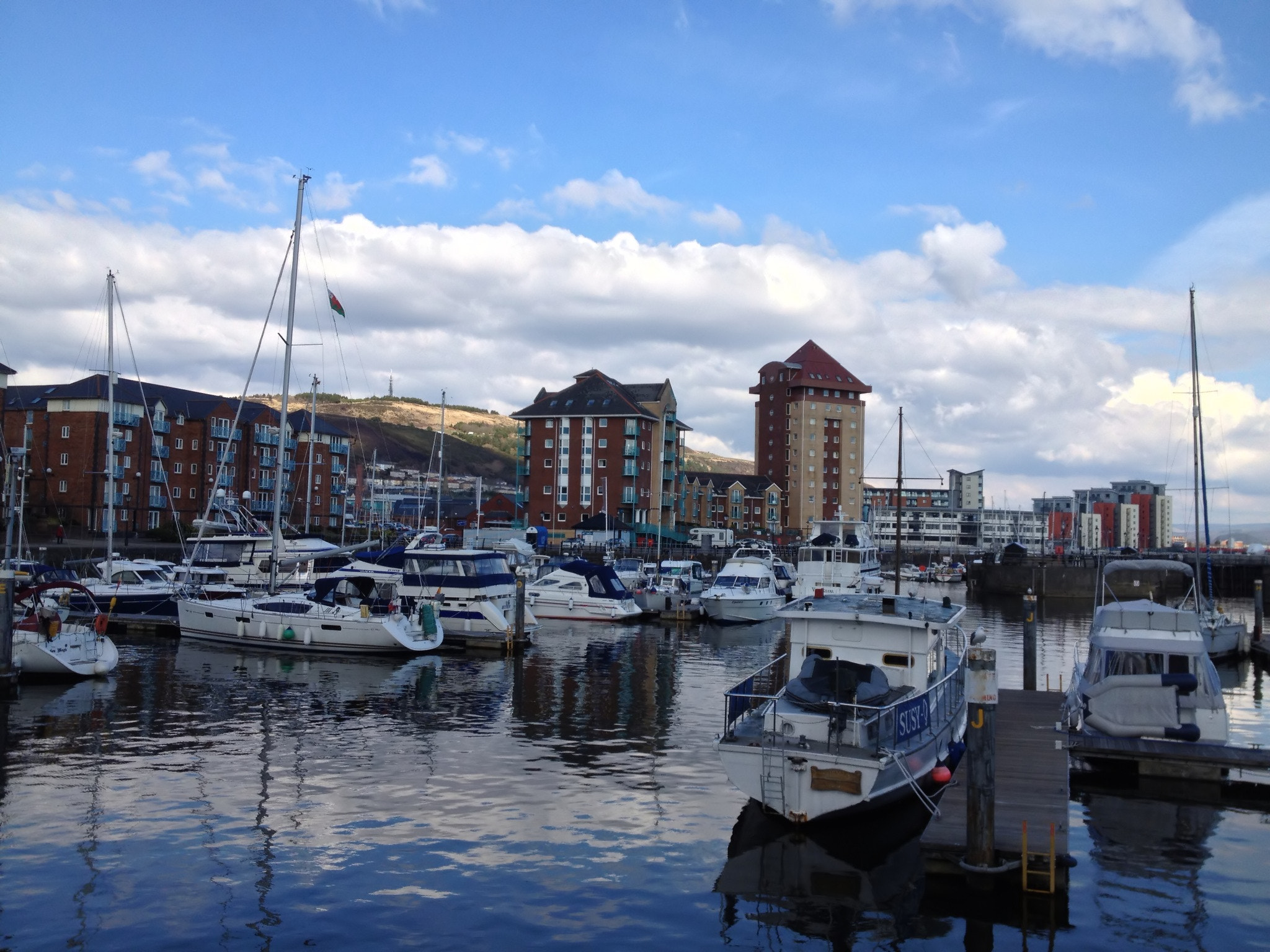Photograph Swansea Marina by Santhosh  R on 500px