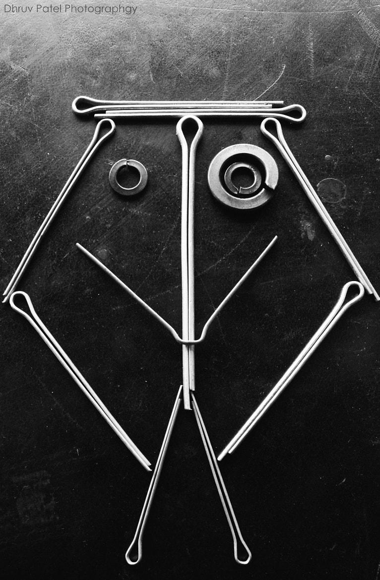 Photograph Split Pin Face by Dhruv Patel on 500px