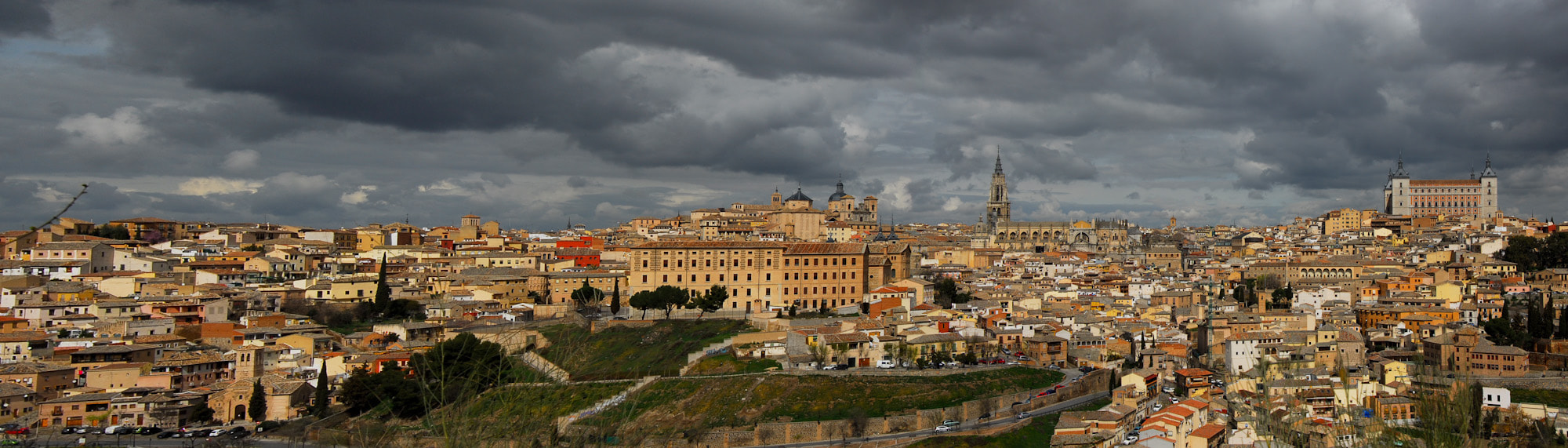 Photograph Magic hour in Toledo, Pano by Dario Ricardo on 500px