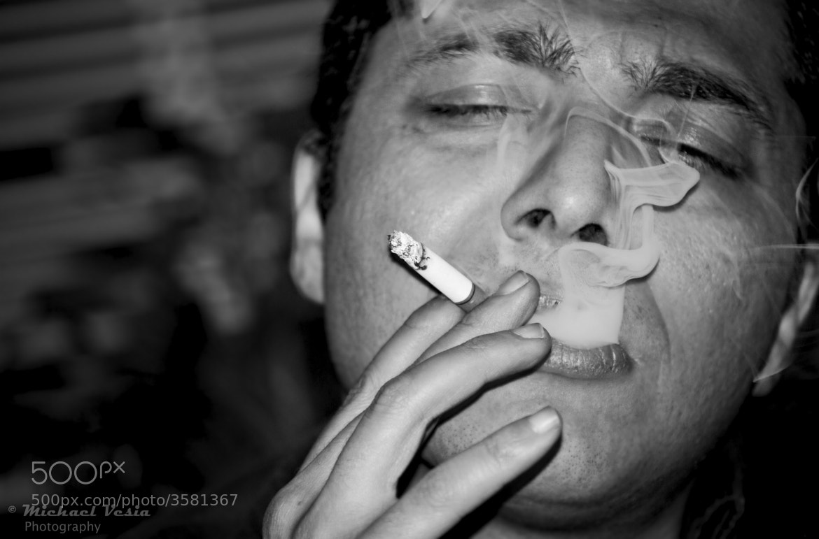 Photograph Smoker by Michael Vesia on 500px