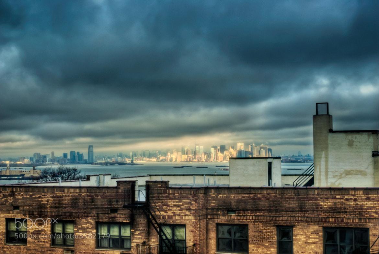 Photograph Light on Lower Manhattan by David Baker on 500px