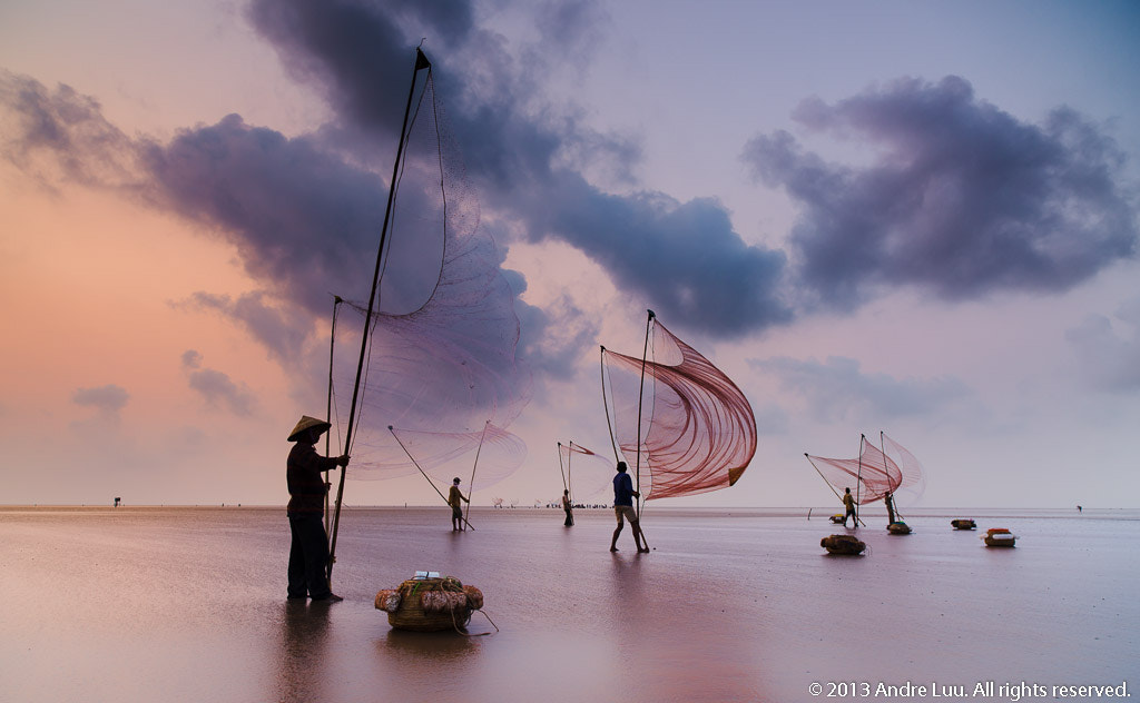 Photograph Lave Net Preparation II by Andre Luu on 500px