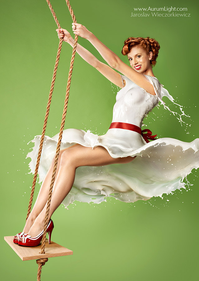 "Photograph Milky PinUp!  ""With the Greatest of Ease – In the Swing…"" by Jaroslav Wieczorkiewicz on 500px"